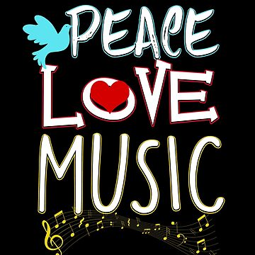 Peace Love Music Hippie Hipster Festival by perfectpresents