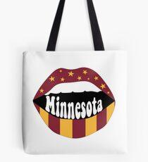 Minnesota Lips Tote Bag