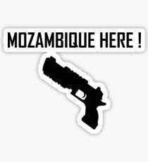 Mozambique here! Sticker