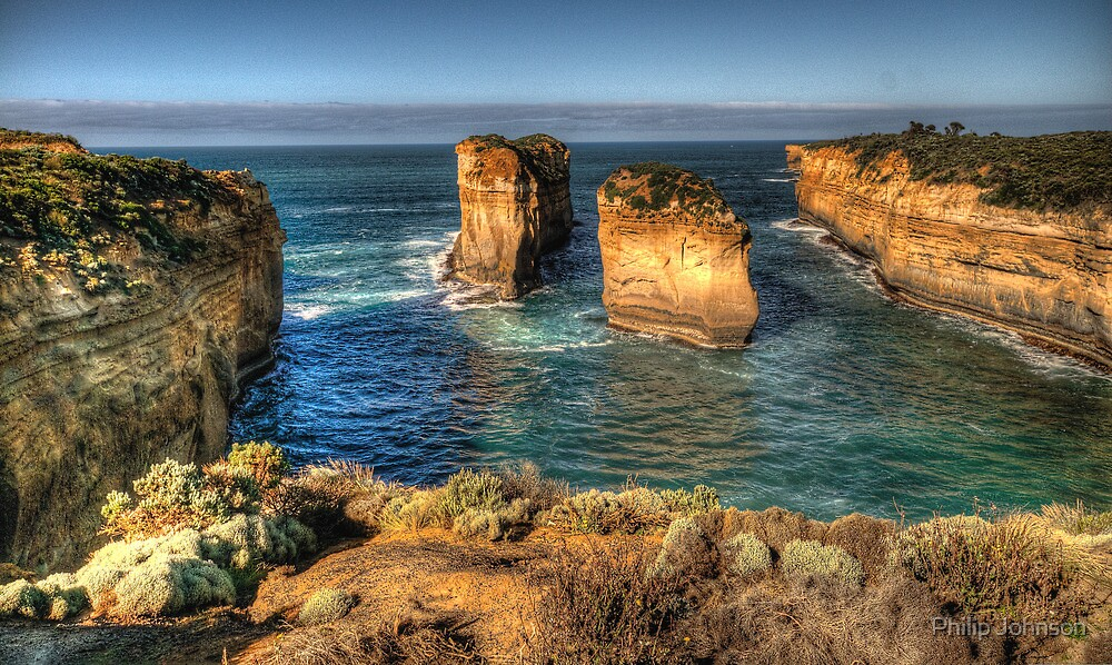 Six Degrees of Separation #3- Loch Ard Gorge - Great Ocean Road - The HDR Experience by Philip Johnson