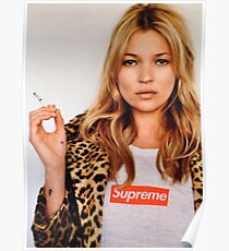 Kate Moss Sup Poster