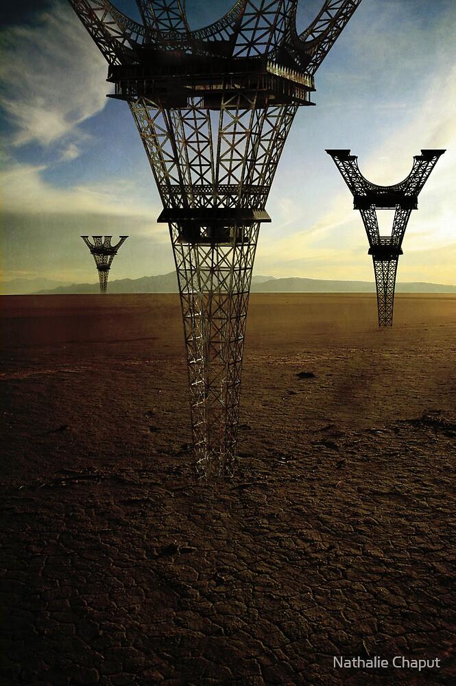 Eiffel Down-under by Nathalie Chaput