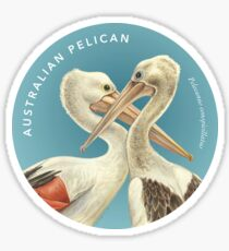 Australian Pelicans - In memory of Craig Lester Sticker