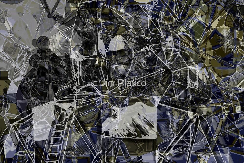« Collage du mashup du module d'excursion lunaire Apollo 11 » par Jim Plaxco