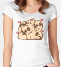 Camiseta entallada de cuello redondo Puglie Grumblie