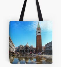 St Marco Square day time, venice, italy Tote Bag