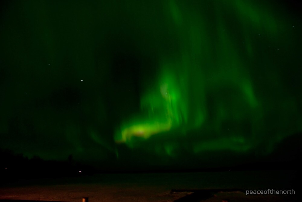April 5th/10 Auroras by peaceofthenorth