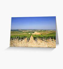Chianti Hills  Greeting Card