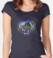 Kingdom of Zeal - Chrono Trigger Women's Fitted Scoop T-Shirt