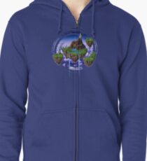 Kingdom of Zeal - Chrono Trigger Zipped Hoodie
