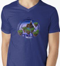 Kingdom of Zeal - Chrono Trigger Men's V-Neck T-Shirt