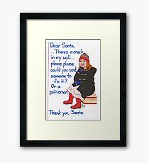 Amelia Pond Framed Print
