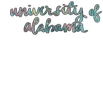 university of alabama by ragray