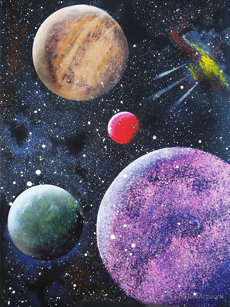Space by EMBlairArtwork