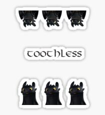 Toothless - How to train your dragon Sticker