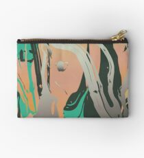 Abstract Marble 3 Zipper Pouch