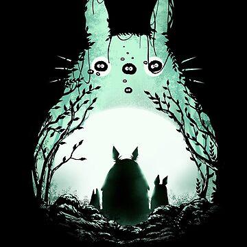 Mitternacht Totoro von dandingeroz