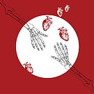 Almost Love - Skeleton Hands by hazelbasil