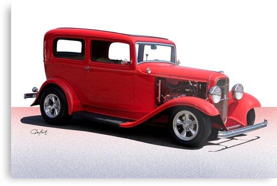 1932 Ford Tudor Sedan by DaveKoontz