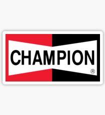 Champion Zündkerze Sticker