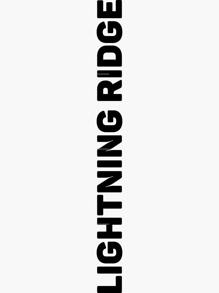Lightning Ridge by designkitsch