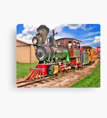 Narrow Gauge Train-HDR Canvas Print