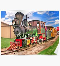 Narrow Gauge Train-HDR Poster