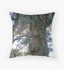 Tree in Upton Park, Easter Throw Pillow