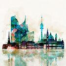 Vienna City Skyline by DimDom