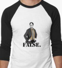 FALSE. Men's Baseball ¾ T-Shirt