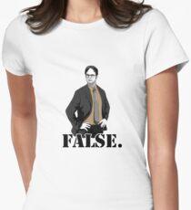 FALSE. Women's Fitted T-Shirt