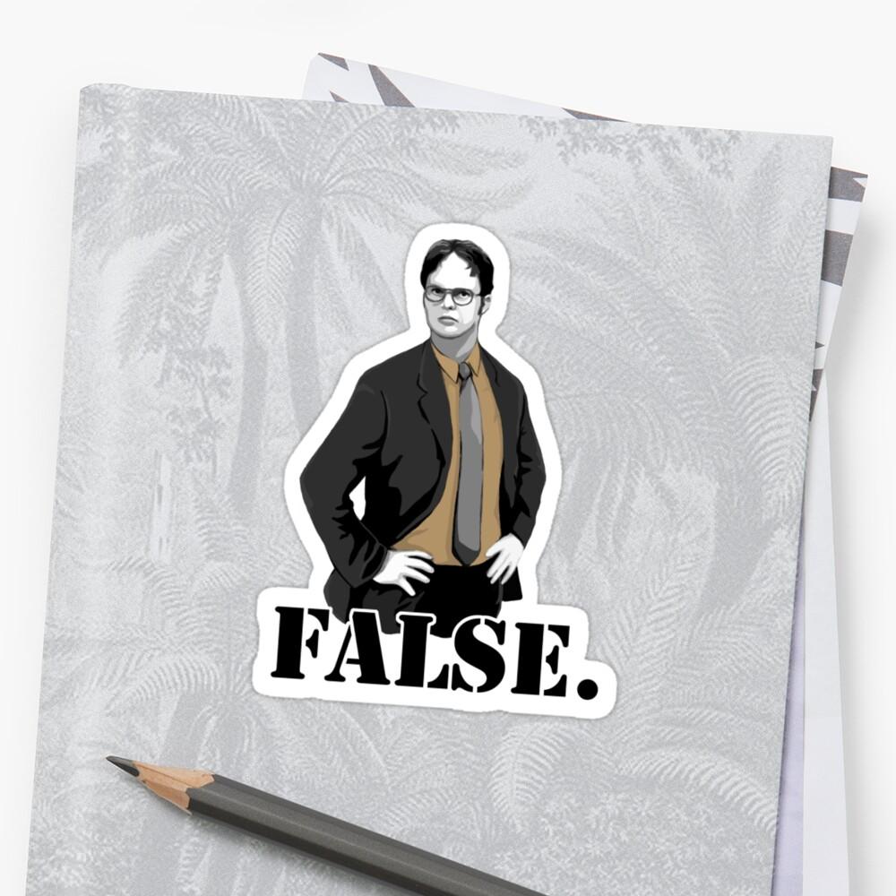 FALSE. by Selador