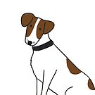 Jack the Jack Russell Terrier dog by lizmaydesigns