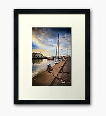 Eyemouth Harbour - Berwickshire, Scottish Borders Framed Print