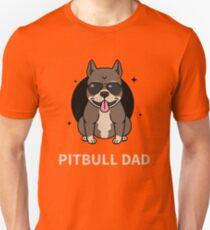 Pitbull Dad Slim Fit T-Shirt