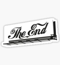 hannah meloche the end Sticker
