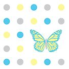 Dotty Butterfly by Namoh
