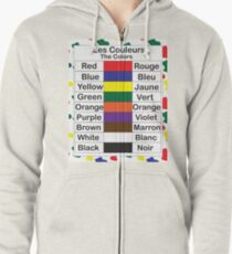 Les Couleurs Zipped Hoodie