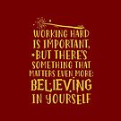 «Trabajar duro es importante» de DuxDesign