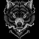 «Lobo oscuro» de deniart