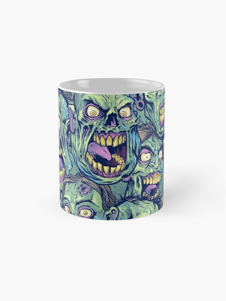 Alternate view of Zombie Repeatable Pattern Mug