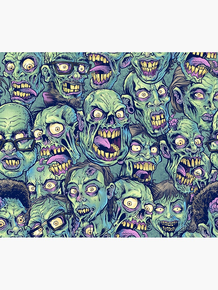 Zombie Repeatable Pattern by flylanddesigns