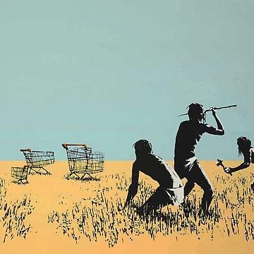 Banksy Trolleys by furioso