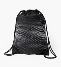 Smoke Titanium Mesh Legging Drawstring Bag