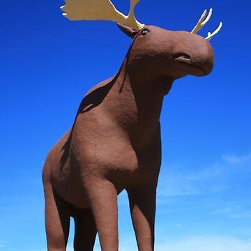 Mac the Moose, Moose Jaw, Saskatchewan by tenia115