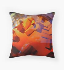 city leagues beneath Throw Pillow