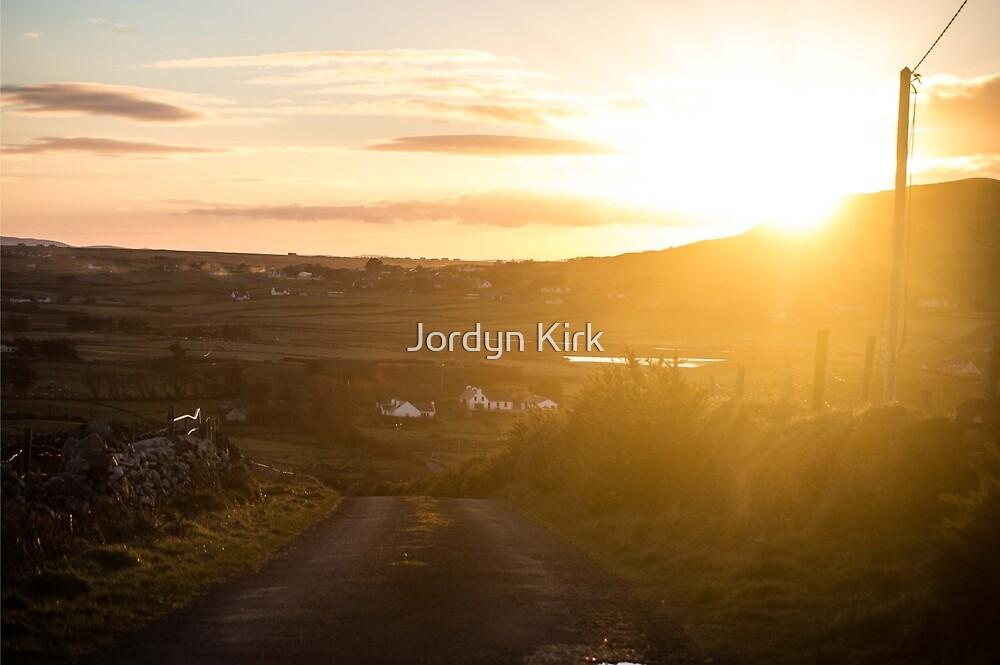 Sunset in the West by Jordyn Kirk