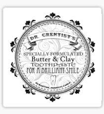 Dr. Crentist Sticker