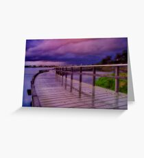 """Twilight Tempest"" Greeting Card"