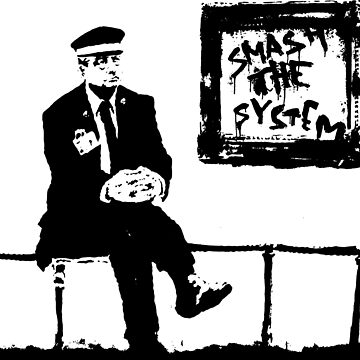Banksy Smash the System by furioso
